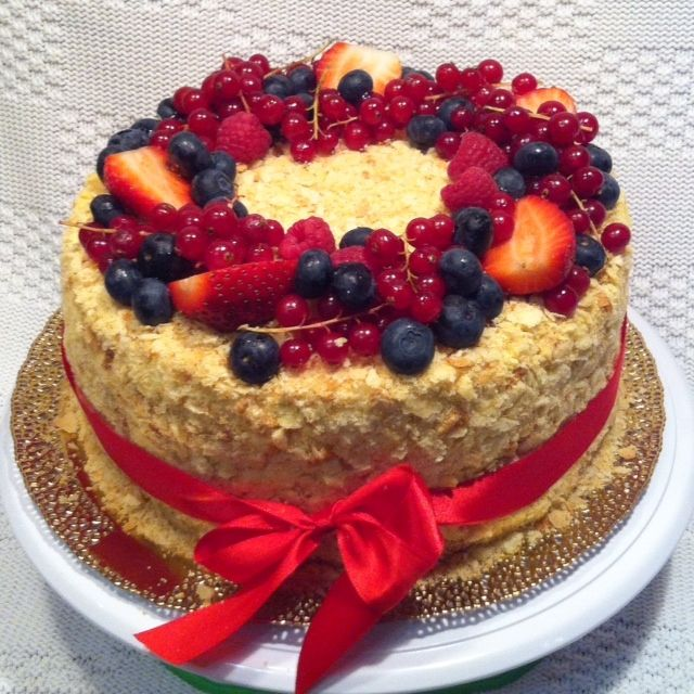 Украшение тортов кремом,шоколадом, фруктами - Сообщество ...