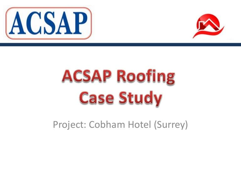 Pin by ACSAP Roofing on Our Case Studies | Industrial roofing