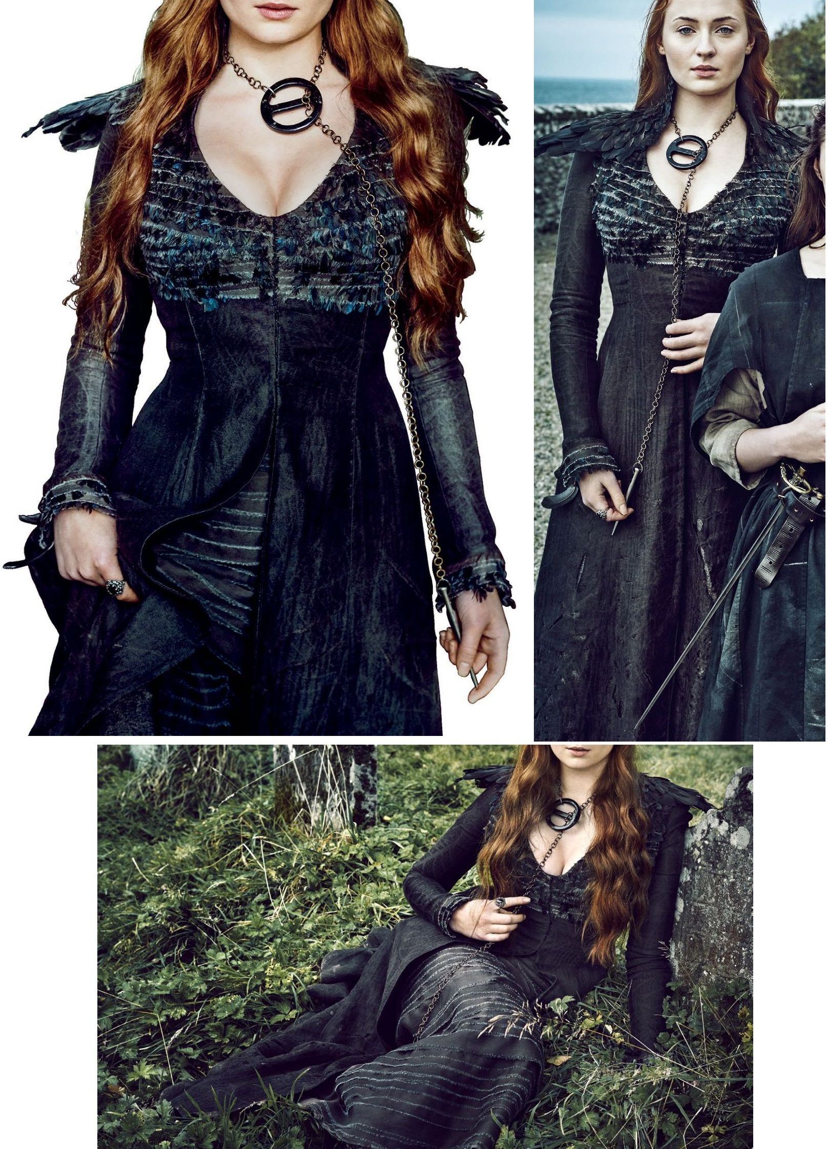Sansa Stark black dress. //celebmafia.com/sophie-turner  sc 1 st  Pinterest & Sansa Stark black dress. http://celebmafia.com/sophie-turner ...