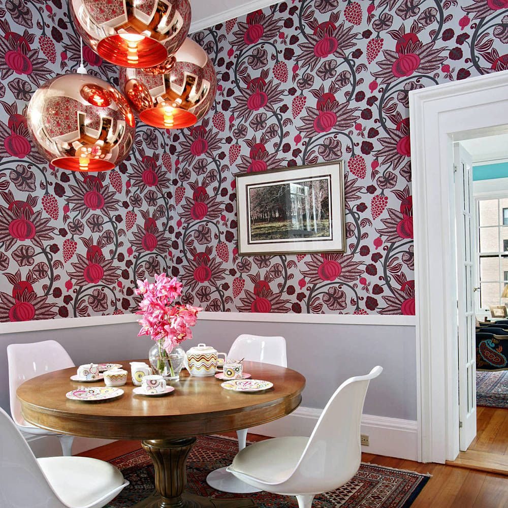 8 Unexpected Wallpaper Ideas To Try In Your Home Dining Room