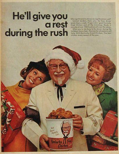 vintage kfc ads   1968 Vintage KFC Kentucky Fried Chicken Ad, Vintage Food Ads (Other)