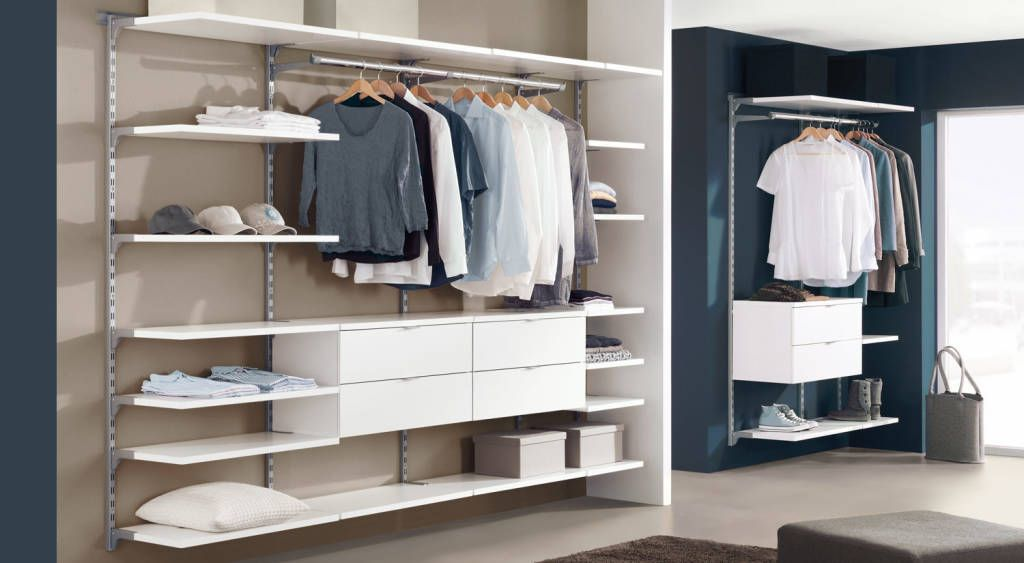 Finde Moderne Ankleidezimmer Designs: Regalsystem Kleiderschrank WALK IN.  Entdecke Die Schönsten Bilder Zur