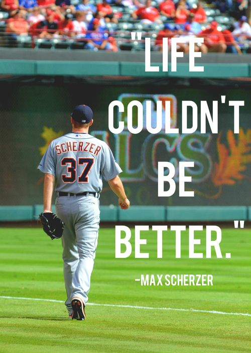 max on being named the al starting pitcher for the 2013 mlb all star game · detroit tigers