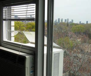 Mounting A Standard Air Conditioner In A Sliding Window From The Inside Without A Bracket Air Conditioner Window Air Conditioner Installation Window Air Conditioner