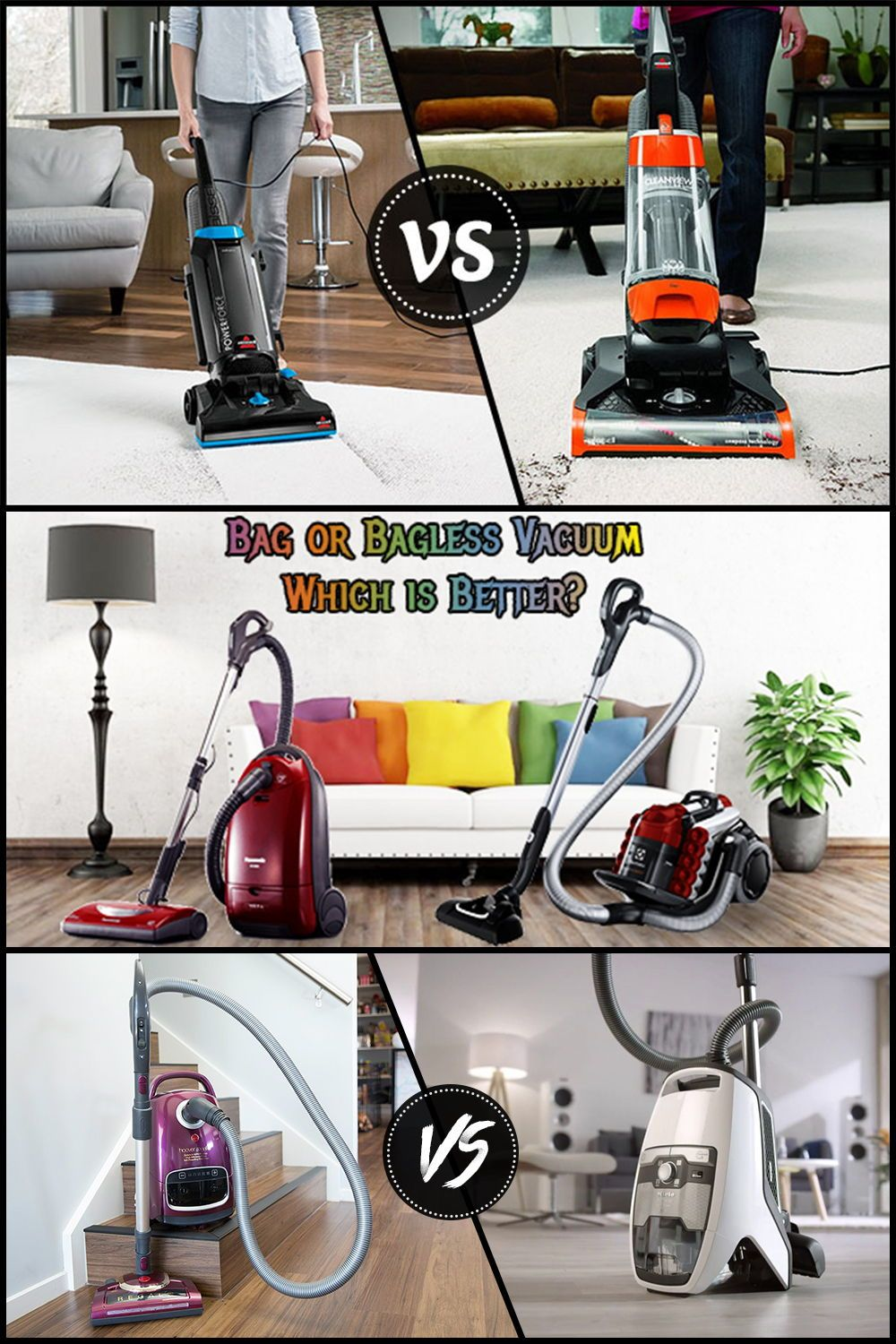 Bagged Vs Bagless Vacuums The Ultimate