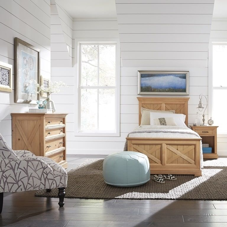 home styles bedroom furniture. Home Styles Country Lodge Twin Bed, Night Stand \u0026 Chest, Natural Bedroom Furniture