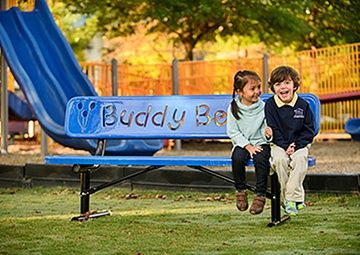 Best Ultrasite Buddy Bench Buddy Bench Park Playground Noah 400 x 300