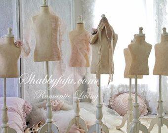 French Style Children's Dressform Mannequin...Treasury Item