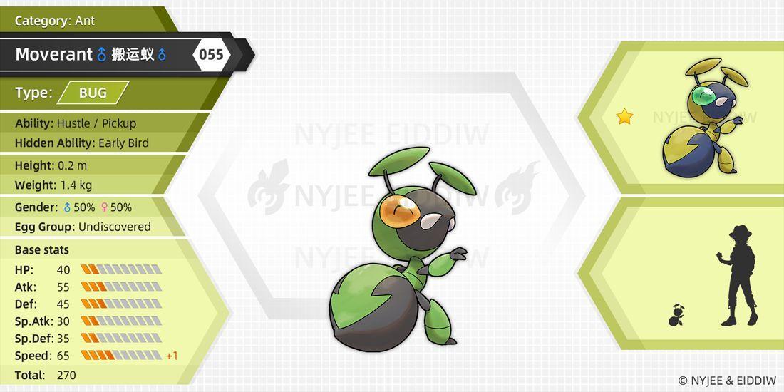 35+ Pokemon ant information