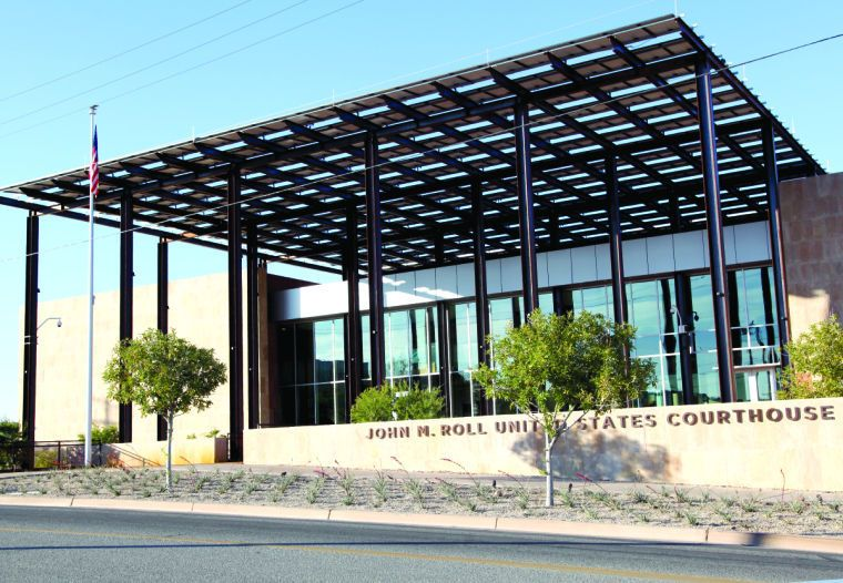 """The John M. Roll U.S. Courthouse inYuma, Arizona opened in December 16, 2013.  """"Chief Judge Roll was the champion and leading force behind the Yuma federal courthouse project,"""" said U.S. Magistrate Judge James F. Metcalf. """"This courthouse is a fitting tribute to the memory of Judge Roll, and the building will serve as a lasting reminder of his tireless efforts on behalf of this district and of America's system of justice."""""""