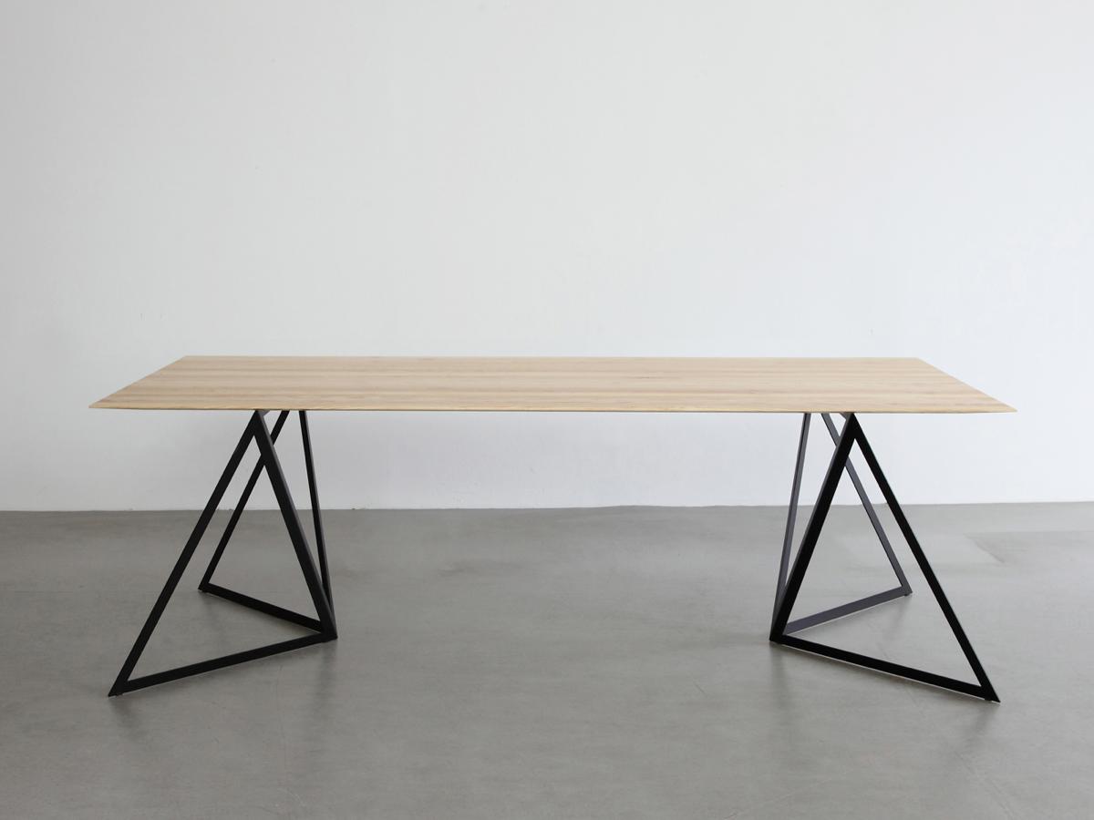 NEO/CRAFT Steel Stand Table - Tisch   Tischbock, Dreieck und Stabil