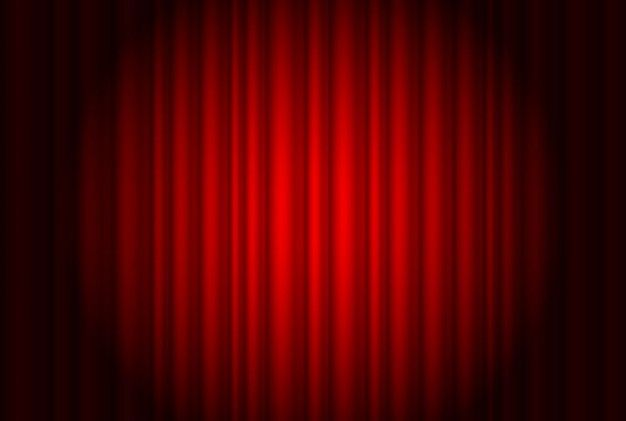 Download Red Curtain Background Vector For Free Red Curtains
