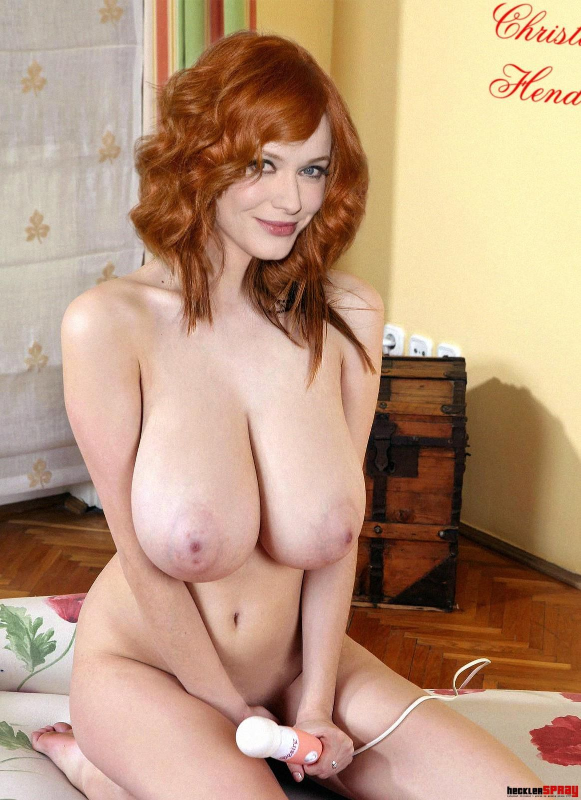 lookalike Christina hendricks porn