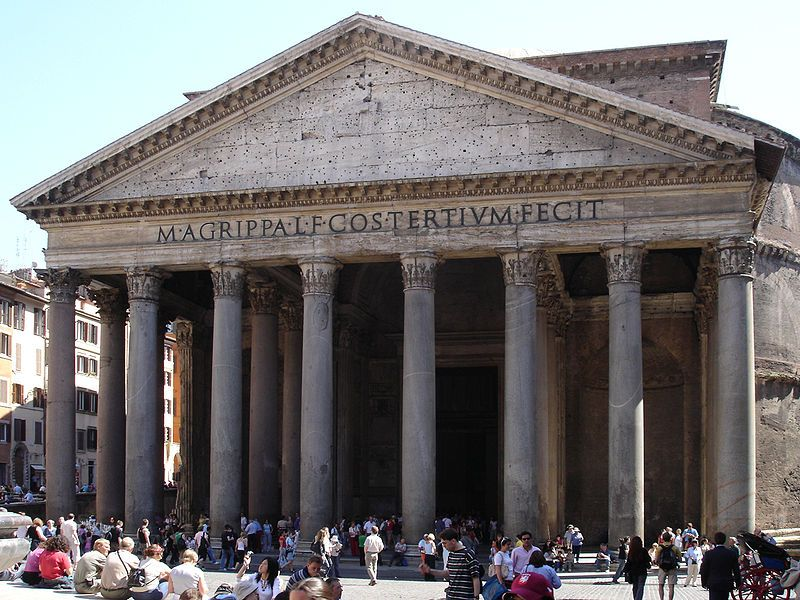 Visiting The Pantheon In Rome Italy Famous Buildings The