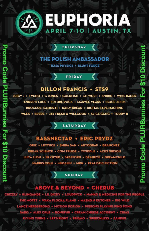 That lineup tho!❤️ Get your tickets now! Use promo code