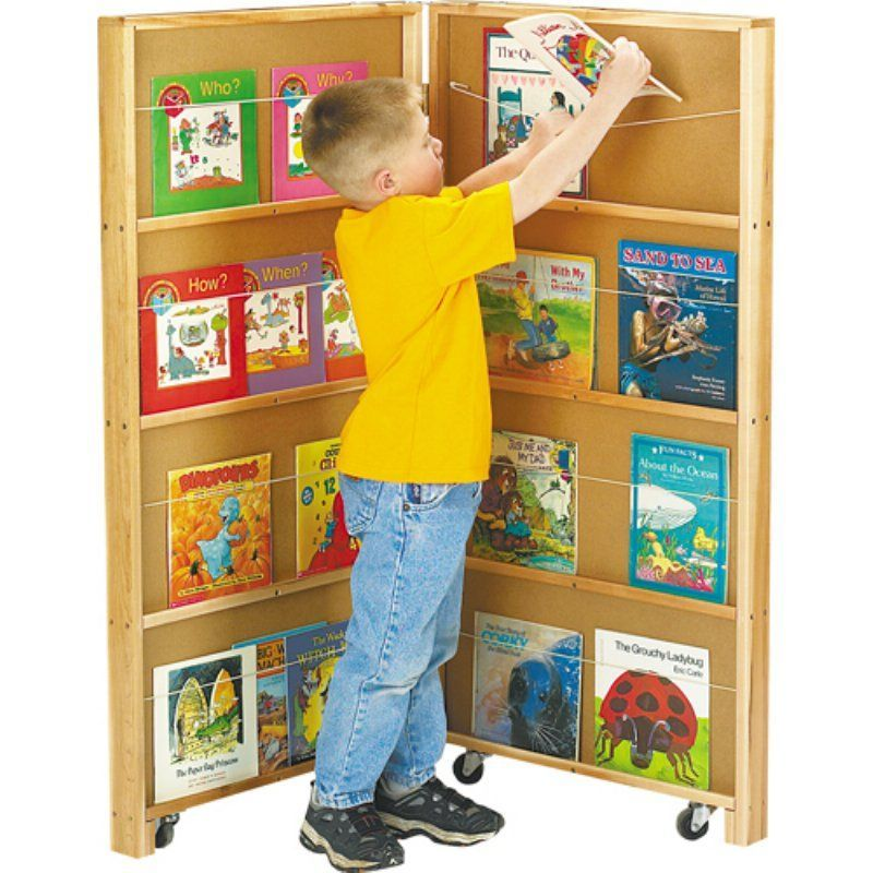 Jonti Craft Mobile Library Bookcase 2671jc