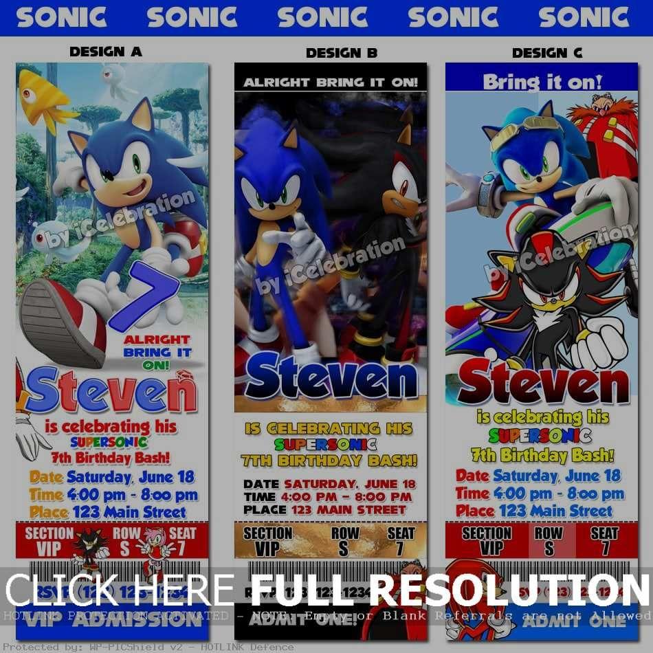 Pinterest A The World S Catalogue Of Ideas Sonic Birthday Parties Sonic Birthday Hedgehog Birthday
