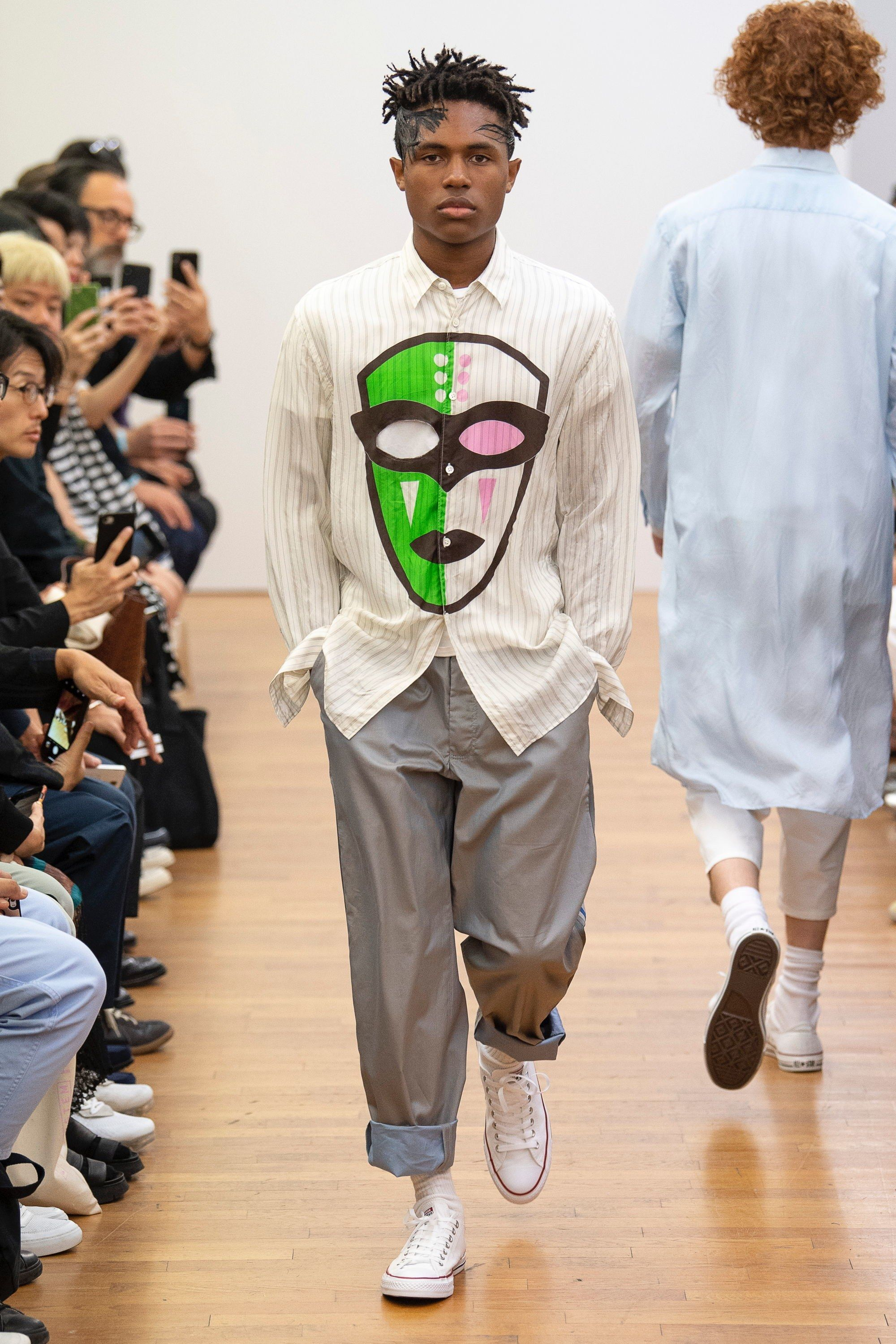 9a998717a95f72 Comme des Garçons Shirt Spring 2019 Menswear Paris Collection - Vogue