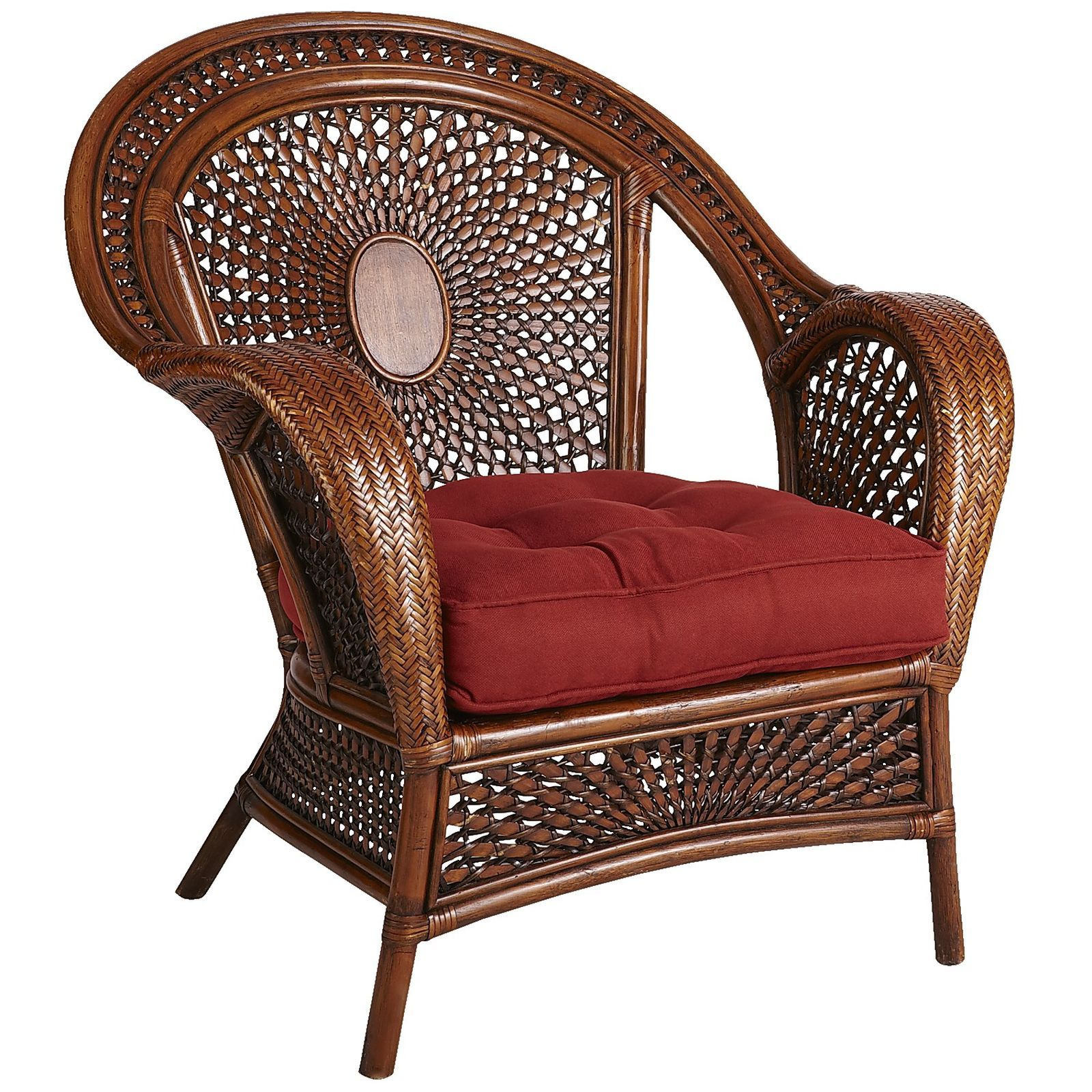 Azteca Armchair Pecan Brown Pier 1 Imports Wicker Furniture