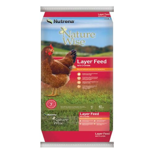 Naturewise Layer 16 Crumbles Poultry Feed Non Medicated