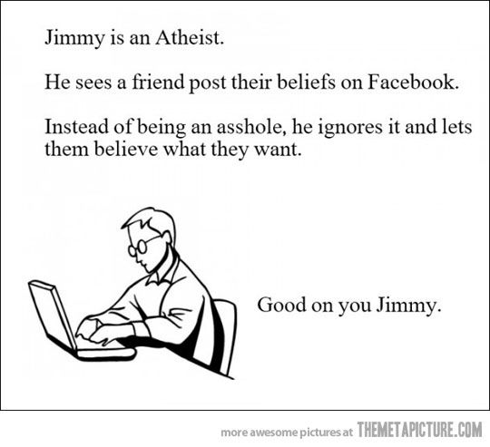 Good on you, Jimmy…