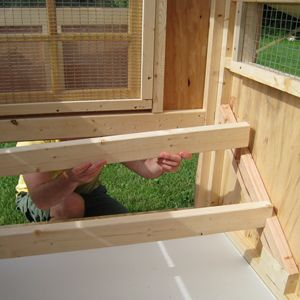 easy clean chicken coops roost bars cabane poule. Black Bedroom Furniture Sets. Home Design Ideas
