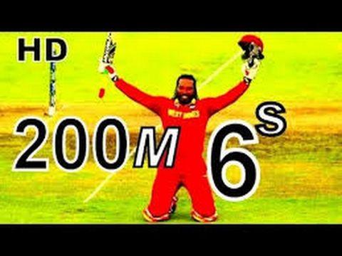 8f9bd3002a42 Longest   Biggest Six Ever by Chris Gayle IPL Sixes 200 meter HD Y ...