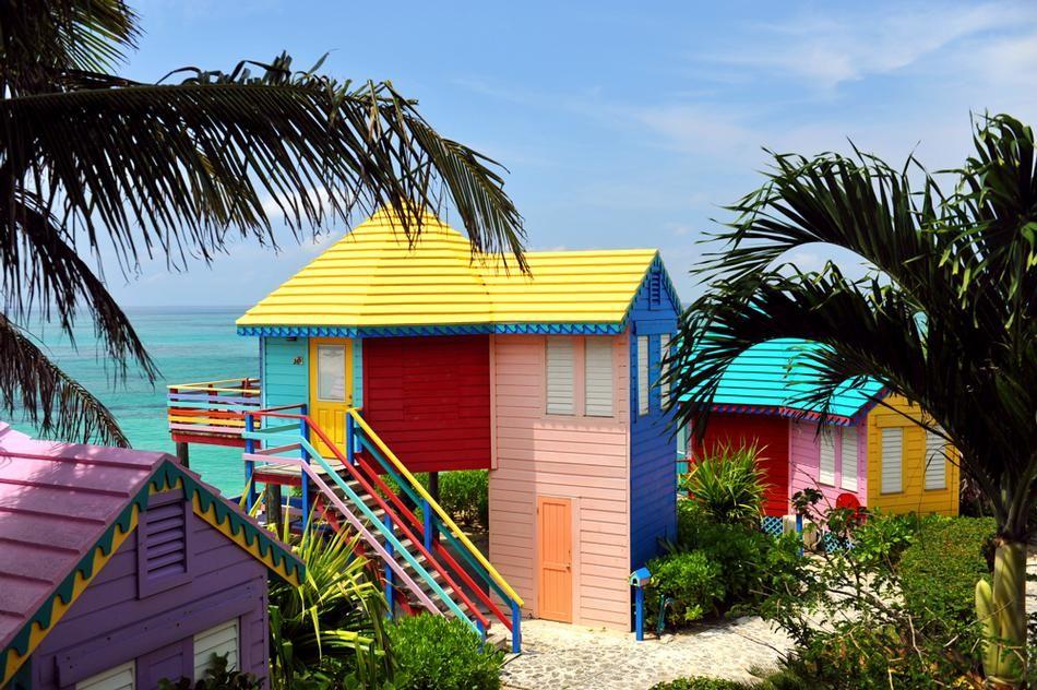 Nau Cottages Colorful Beach South Carolina Towns
