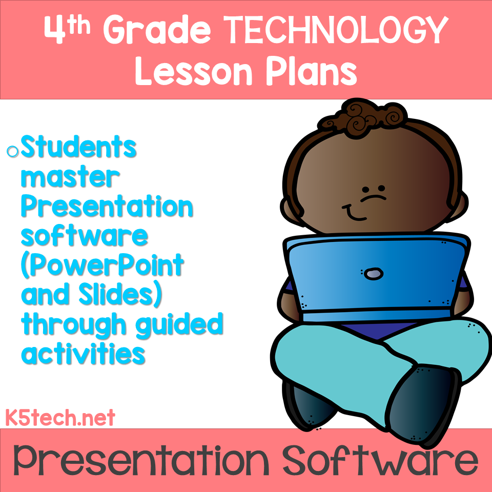 4th Grade Technology lesson, Technology lessons