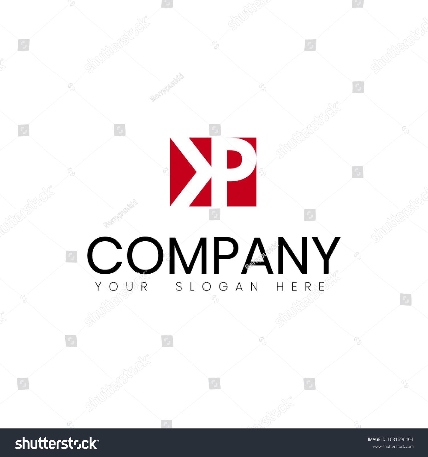 Logo Kp Conceptdesign Vector Symbol Initial Stock Vector (Royalty Free) 1631696404