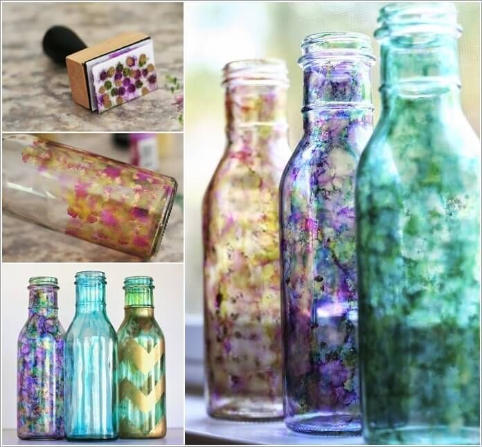 Cool Ways To Decorate Glass Bottles 40 Projet Pinterest Glass Cool Ways To Decorate Glass Jars