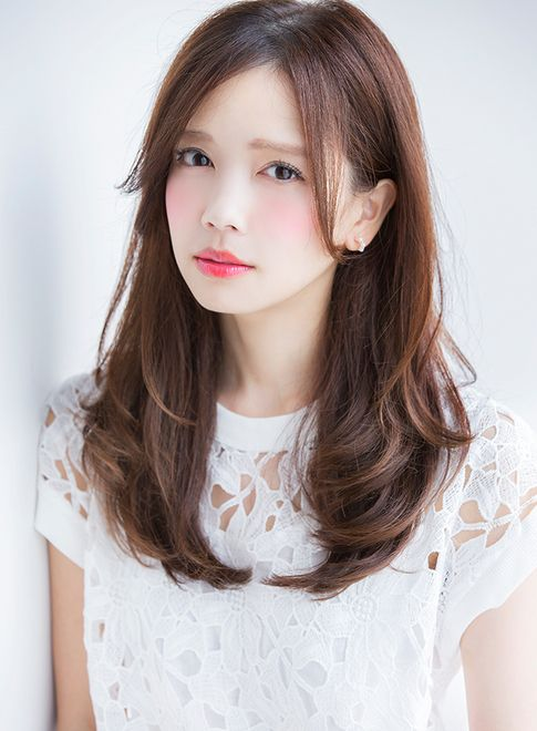 Hairstyles For Long Asian Hair : Hair and beauty on pinterest 59 images japanese hairstyles