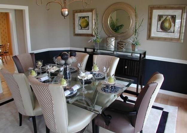 Glass Top Tables Magnifying Beautiful Dining Room Design  Dining Enchanting Modern Dining Room Designs Inspiration Design