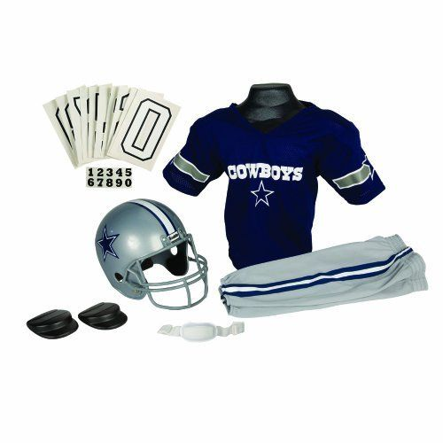 NFL Dallas Cowboys Deluxe Youth Uniform Set, Small by Franklin. $24.00. Franklin Sports NFL Dallas Cowboys Deluxe Youth Uniform Set
