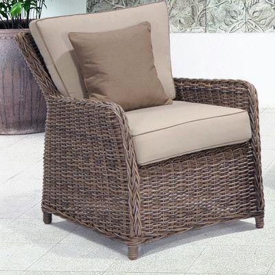Wildon Home Kameron Lounge Chair With Cushion