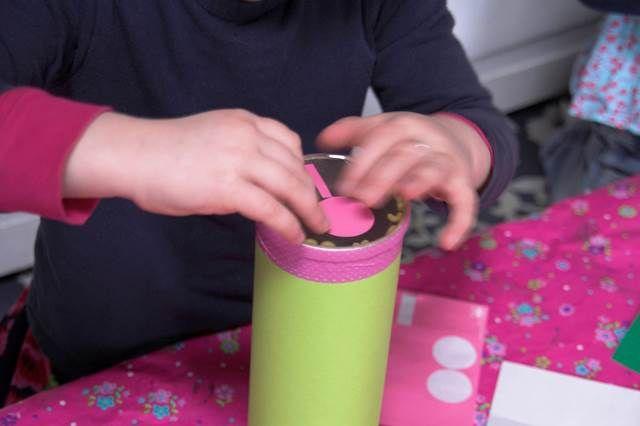... Lila & Lime ...: Muziekinstrumenten maken