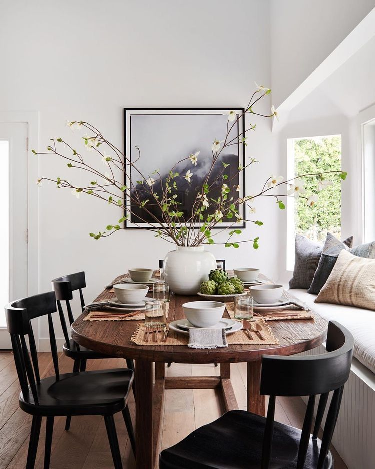 Californian Style Dining Room Table Decor Ideas Dining Room Inspiration Dining Nook Home