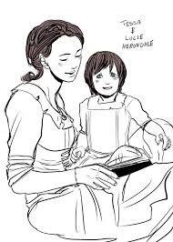 Tessa e sua filha