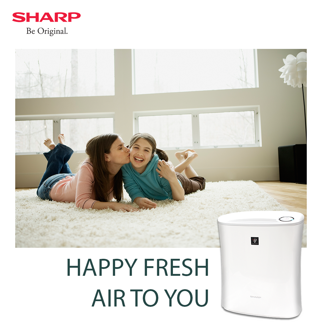 Fresh indoor air for body and soul. Sharp Air Purifier