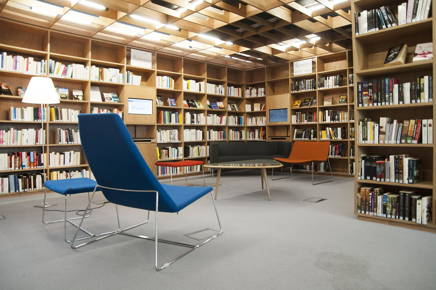 Contemporary Library Furniture Modern Library Furniture Bci