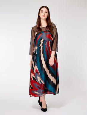 kleid aus seidencharmeuse  kleider kleider in großen größen und festliche kleider