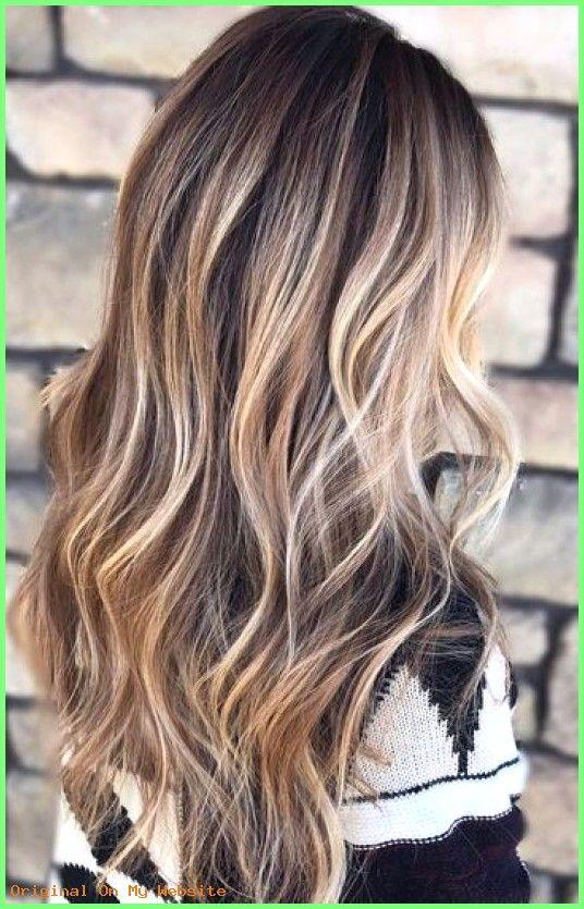 Haaren bei blonde strähnen braunen 20 Dunkelbraune