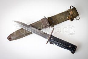 Vintage Vietnam War Era U S  M6 Milpar Col Military Bayonet