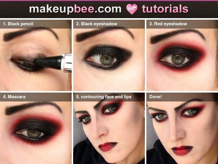 Dramatic Vampire Makeup Tutorial Halloween Makeup Vampire Makeup