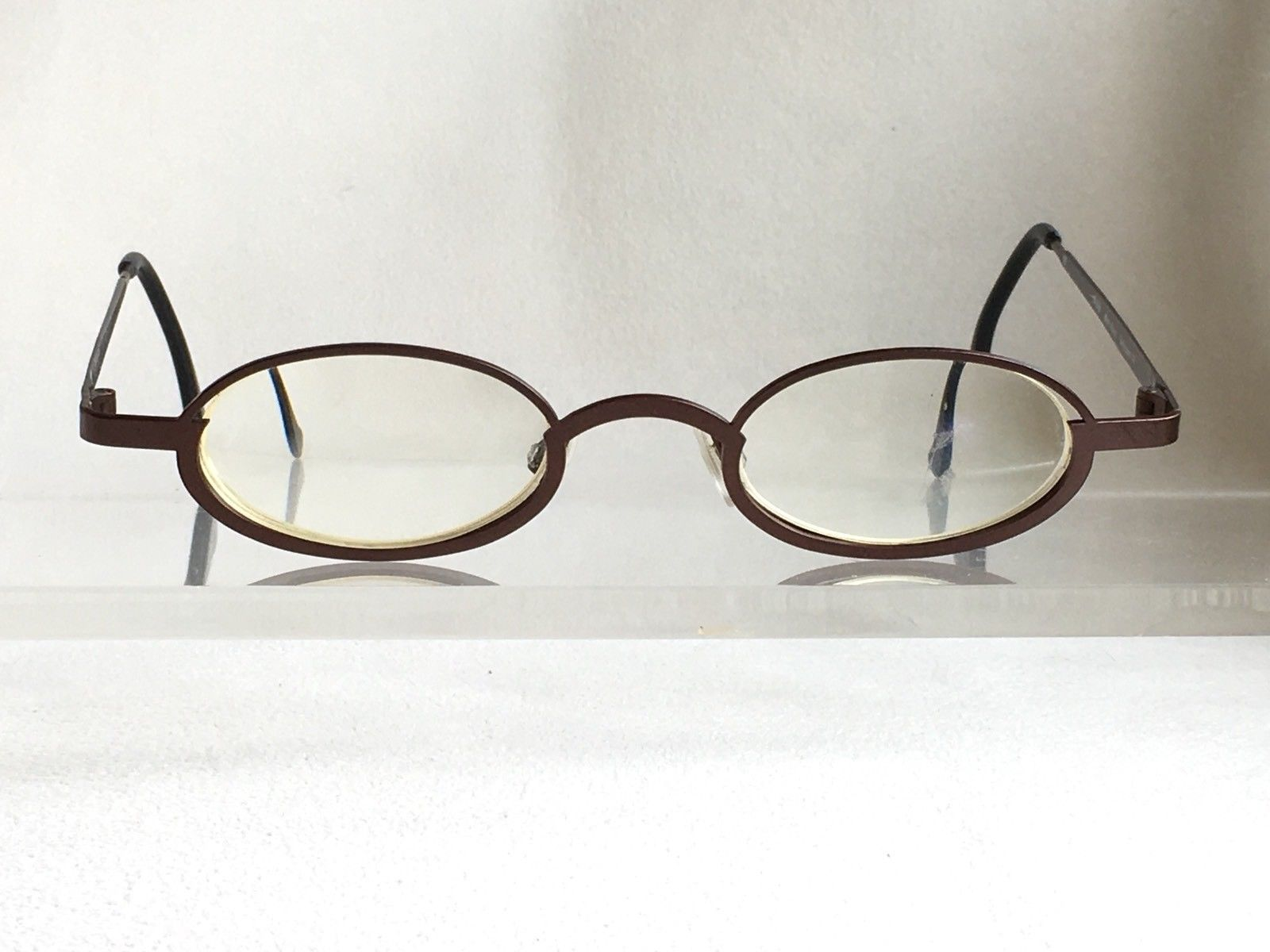 a50406303b Hard to Find Theo Belgium Dee Slim Eyeglasses RX Lens