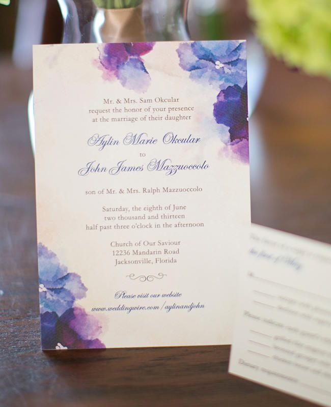 Floral Invitations Done 5 Ways Floral invitation