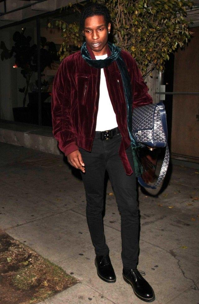 Asap Rocky In La Men S Celebrity Fashion Asap Rocky Fashion