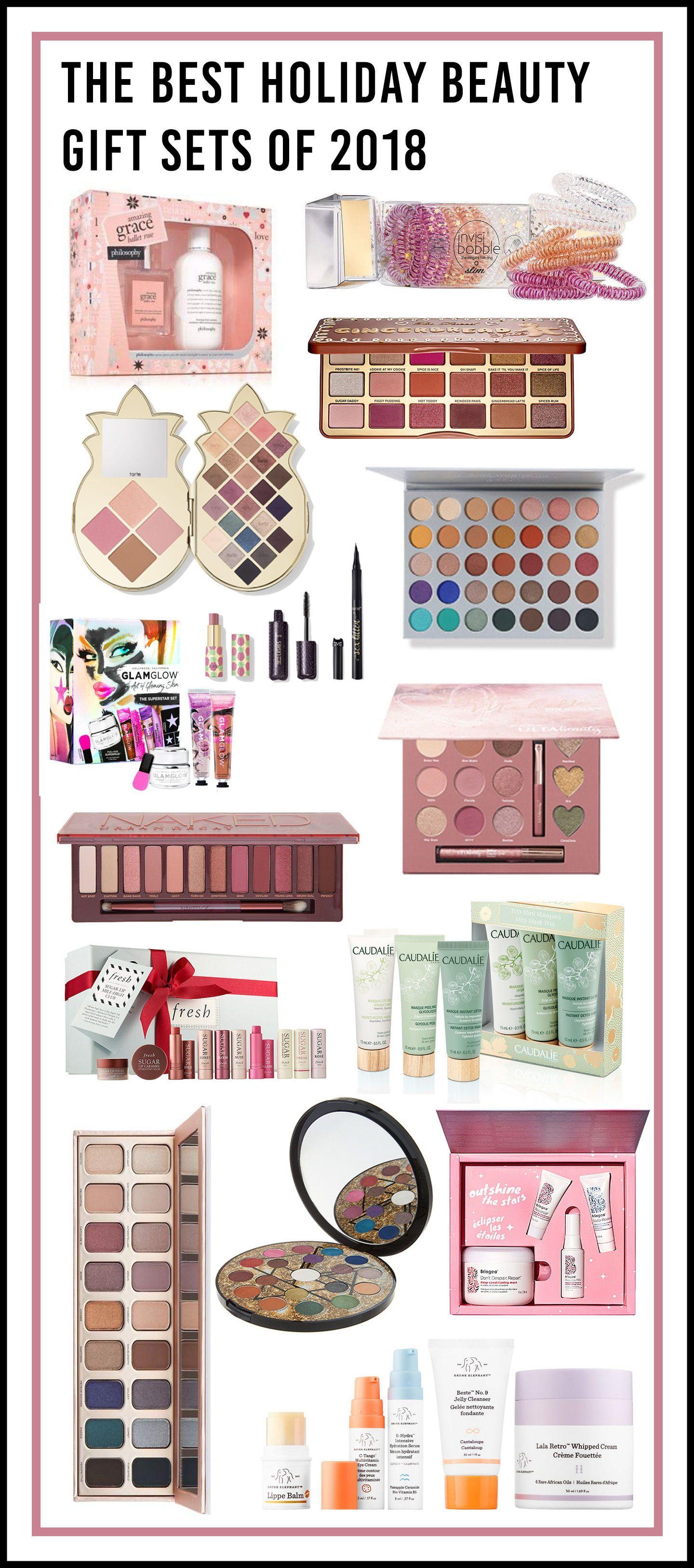 15 Holiday Makeup Gift Sets You Ll Actually Want To Buy Holly Habeck Holiday Makeup Gifts Holiday Makeup Gift Sets Makeup Gift Sets
