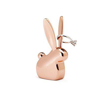 Cute Umbra Anigram Ring Holder Bunny