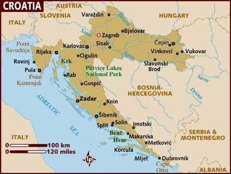 Imagen Relacionada Croacia Mapa De Croacia Eslovenia
